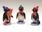 Pinguine Wintersportler